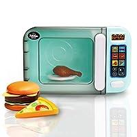 infunbebe Jeeves Jr. 儿童微波炉玩具电子假装微波炉玩具就像家庭 我的*个厨房用具适合幼儿 Microwave Oven