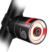 原装 LED 自行车充电灯组 800 流明更明亮的自行车灯,宽长覆盖范围 - 85° & 650ft ? IPX6 防水 ? 升级可充电尾灯,自行车灯