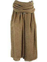 EVOLATREE 男女款奢华羊绒围巾 - 柔软保暖冬季围巾