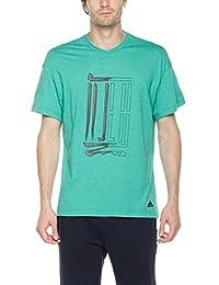 adidas 阿迪达斯 男式 武极系列 短袖T恤 WJ GFX LOGO T