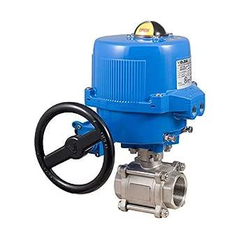 Bonomi North America M8E0720-021-1/2 0.5 英寸(约 1.3 厘米)直接安装 2 向钢球阀和 12 伏直流调制电动执行器