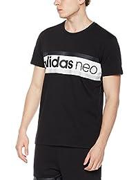 adidas NEO 阿迪达斯运动生活 男式 NEO 短袖上衣 M FAV TSHIRT