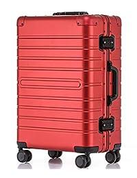 【铝镁合金一体箱】JamayZeyliner 佳美吉利亚 铝镁合金箱出国旅行箱拉杆箱登机箱托运箱商务箱电脑箱8095