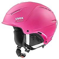 uvex 男女通用的 p1us 2.0 滑雪頭盔,紫羅蘭色,55-59 厘米