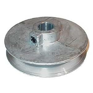 "芝加哥 DIE casting 5/ 1.8CM 口径 X 直径单 v-groove 铸铁 pulley 1-3/4"""