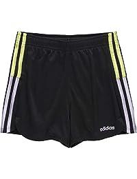 adidas 阿迪达斯 女孩 Big' YTH 条纹网眼短裤