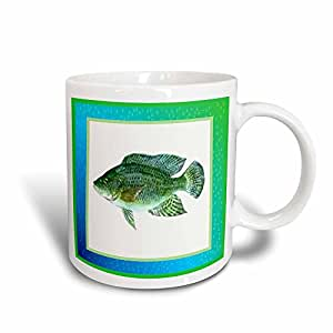 3dRose mug_14879_3 Haitian Tilapia Magic Transforming Mug, 11-Ounce