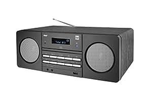 Dual DAB 410 DAB+ CD-Radio AUX, CD, DAB+, UKW, USB 黑色75572 带蓝牙