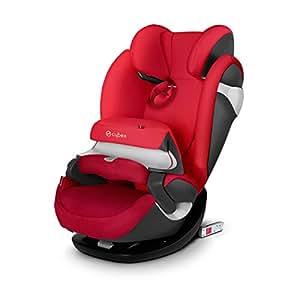 (跨境自营)(包税) 德国CYBEX儿童安全座椅派乐斯Pallas m-fix isofix硬接口 17款英伦红(德国品牌