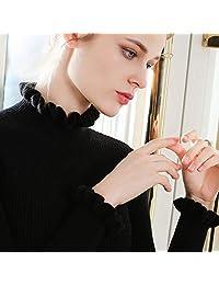 欧米澳 罗子君同款半高领羊绒衫女套头修身羊毛毛长袖打底衫