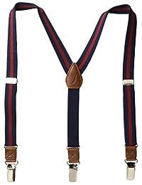 Nautica 男童可调节条纹 suspender