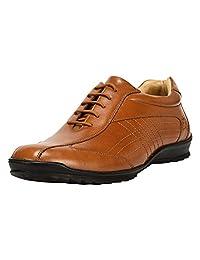 Liberty 男式手工皮革经典乐福鞋僧舞搭扣皮鞋