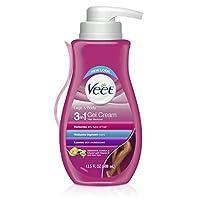 Veet 凝膠除毛器奶油色敏感配方13.5盎司(包裝可能隨機)