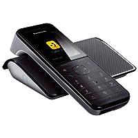 Panasonic 松下 KX-PRW110 无线高级范围 CON 解锁智能手机 11.4厘米(2.2寸),黑白(意大利版)