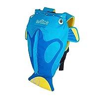 英国Trunki PaddlePak防水背包-刺尾鲷鱼 (2-6岁) 蓝色TR0173-GB01