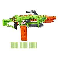 NERF Revoltinator Zombie Strike 玩具玩具槍 配*動發光聲和 18 顆官方飛鏢,適用于兒童、青少年和成人