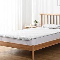 Kumori 凉爽 床垫 触感清凉 床垫 速干型 清凉 床垫 床 夏天用 清凉垫 可洗 垫子 *・防臭・* 灰色 シングル・100X200cm SP-H-GR1