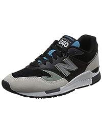 New Balance 中性 休闲跑步鞋 840系列 ML840NTB-D