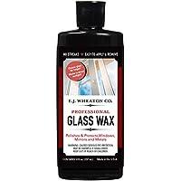 E.J. WHEATON CO.玻璃蜡,抛光和保护窗户、镜子和金属表面,干燥粉笔白色,易于粘贴和去除,美国制造