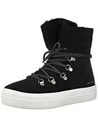 Skechers Women's Alba-High Hugs. Tall Suede Lace Up Sneakerboot. Sneaker US