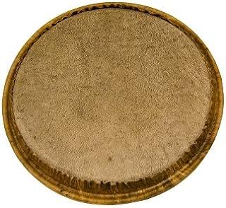 Tycoon Percussion 天然無漂白牛皮頭,適用于 10 英寸肯尼克