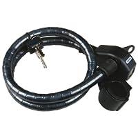 ABUS 6900/75 LL 装甲电缆锁 + URB 剃须刀