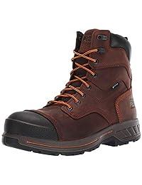 Timberland PRO 男士 Helix Hd 8 英寸复合材料鞋头防水保暖工业靴