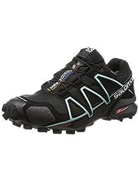 Salomon 萨洛蒙 女 越野跑鞋 SPEEDCROSS 4 GTX W