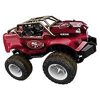 官方* NFL 遥控怪物卡车 旧金山49人队 Red/Gold