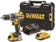 Dewalt 1节,黄色/黑色,DCD796D2 无绳 QW