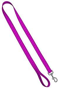 """可爱的碎花狗项圈和皮带 - 防水彩色女式狗项圈和狗绳,各种尺码可供狗狗使用 时尚粉色 LEASH 6 FT-3/4"""""""