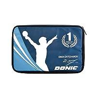 DONIC Schildkrot 乒乓球 球拍用套 [Ovtcharov Cover] 可收纳2个 蓝色 DSK-818538 【正品】