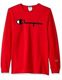 Champion LIFE 男式 Heritage 长袖T恤