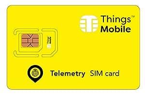 用于遥测/遥测的 SIM 卡 - 兼容 2G 3G 4G LTE GSM 设备 - 覆盖范围在美国、加拿大和墨西哥 165 个国家
