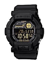 Casio GD350-1B Men's G-Shock Black Digital Dial World Time Vibration Alarm Dive Watch