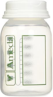 Ameda Breast Milk Storage Bottles, 4 Ounce, 4 Pack