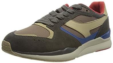 Li Ning 李宁 男 板鞋 ALCJ109-2 藤褐色/酱褐色 42 1/3 (US 9)