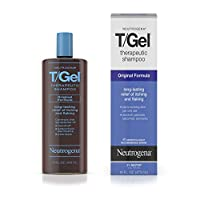 Neutrogena 露得清 T/Gel 防脱去屑止痒洗发水Therapeutic Shampoo, **初配方, 16 盎司(454ml)