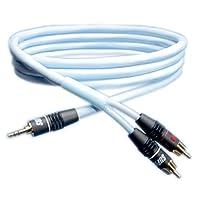 SAEC SUPRA系列 高品质 立体声迷你RCA音频电缆线 1条BILINE-MP2.0 2.0m