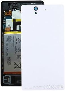 alsatek 铝制替换后盖适用于索尼 Xperia Z/L36h 白色