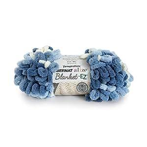 Bernat Alize 毛毯 EZ 纱线 Denim Blues 16103737020