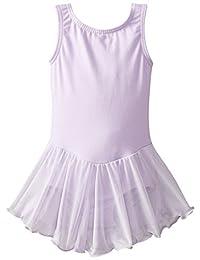 Little Girl 紧身连衣裤无袖背心连体式芭蕾舞上衣舞蹈服
