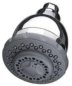 Culligan WSH-C125 壁装式过滤淋浴头,带按摩,镀铬表面