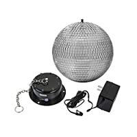 CLASSYTEK 右阶 10 英寸带 LED 灯的镜球和电机