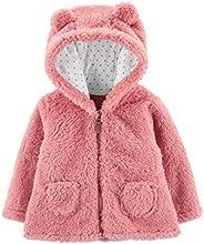 Carter's 卡特女嬰夏爾巴夾克(嬰兒) 粉色夏爾巴 9 Mo