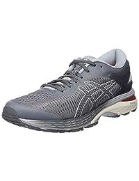 Asics 女式 Gel-Kayano 25 跑步鞋 Grey (Carbon/Mid Grey 020) 6 UK