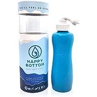 Happy Bottom Washer a Portable Bidet — 您会感觉如此洁净。 手持便携式Bidet Peri 奶瓶,适合家庭或旅行。 环保,卫生,天然。 由 The Happy Brand Company 出品 海浪蓝