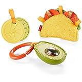 Fisher-Price 费雪 Fisher-Price 大米和滚动寿司套装 Fisher-Price Taco Tuesday Gift Set 多种颜色