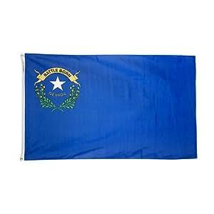 annin flagmakers 英尺来自8-feet tough-tex NEVADA 州旗