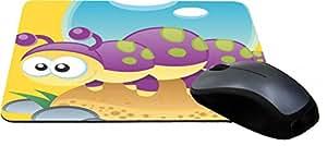 Rikki Knight Caterpillar Cartoon Lightning Series Gaming Mouse Pad